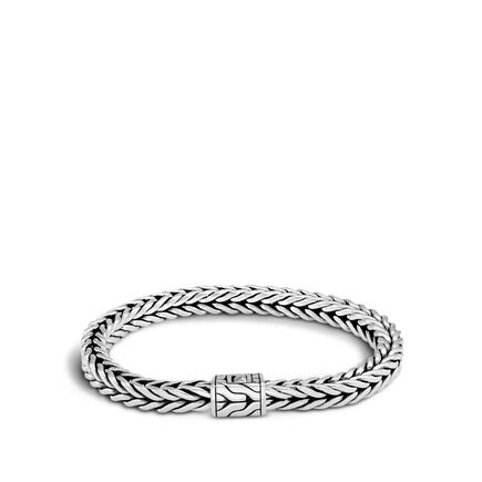 Classic Chain 6x6MM Bracelet in Silver