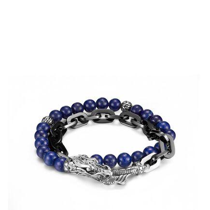 Naga Wrap Bracelet with Lapis