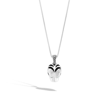 Legends Macan Pendant Necklace in Silver