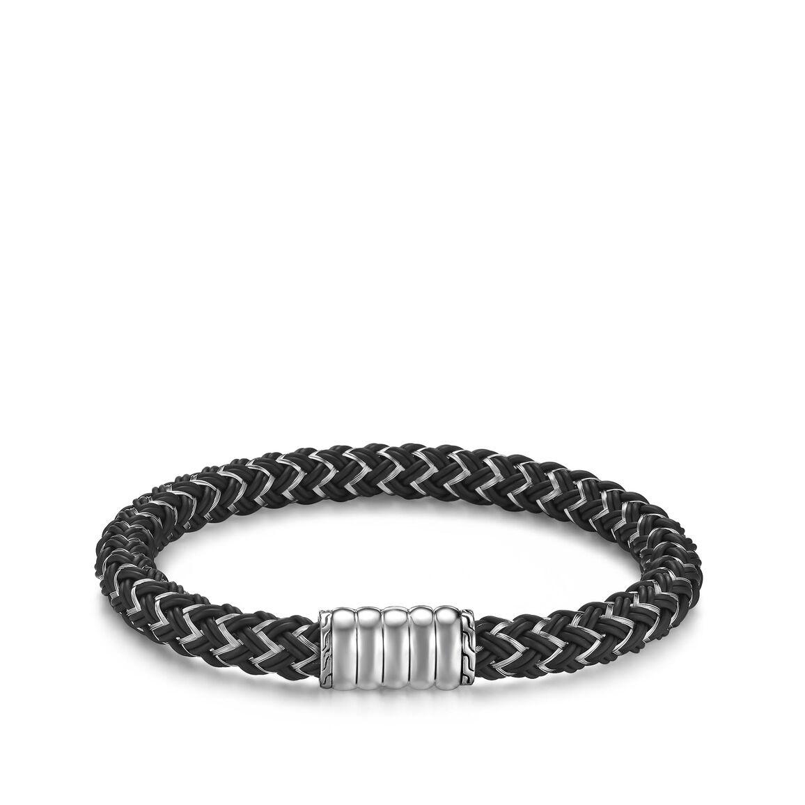 Bedeg 7MM Station Bracelet in Silver
