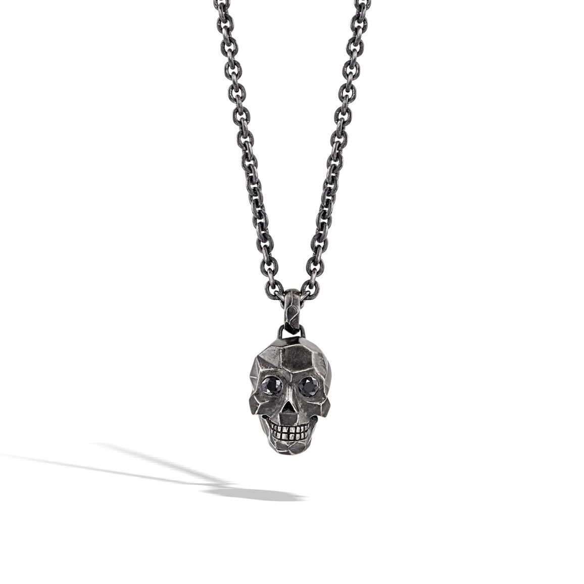 Classic Chain Skull Pendant