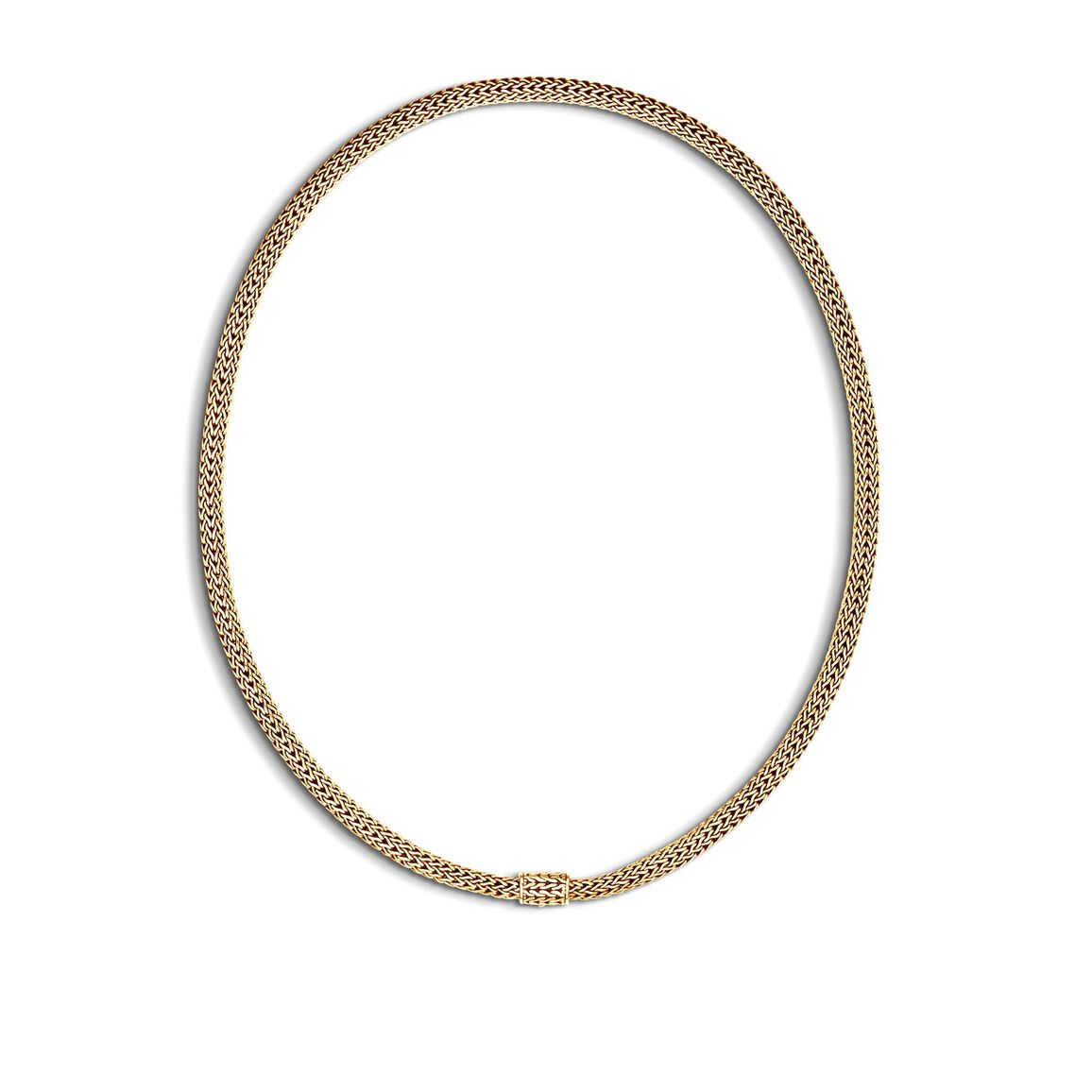 Classic Chain 5MM Necklace in 18K Gold