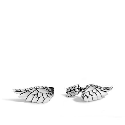 Legends Eagle Wing Cufflinks in Silver