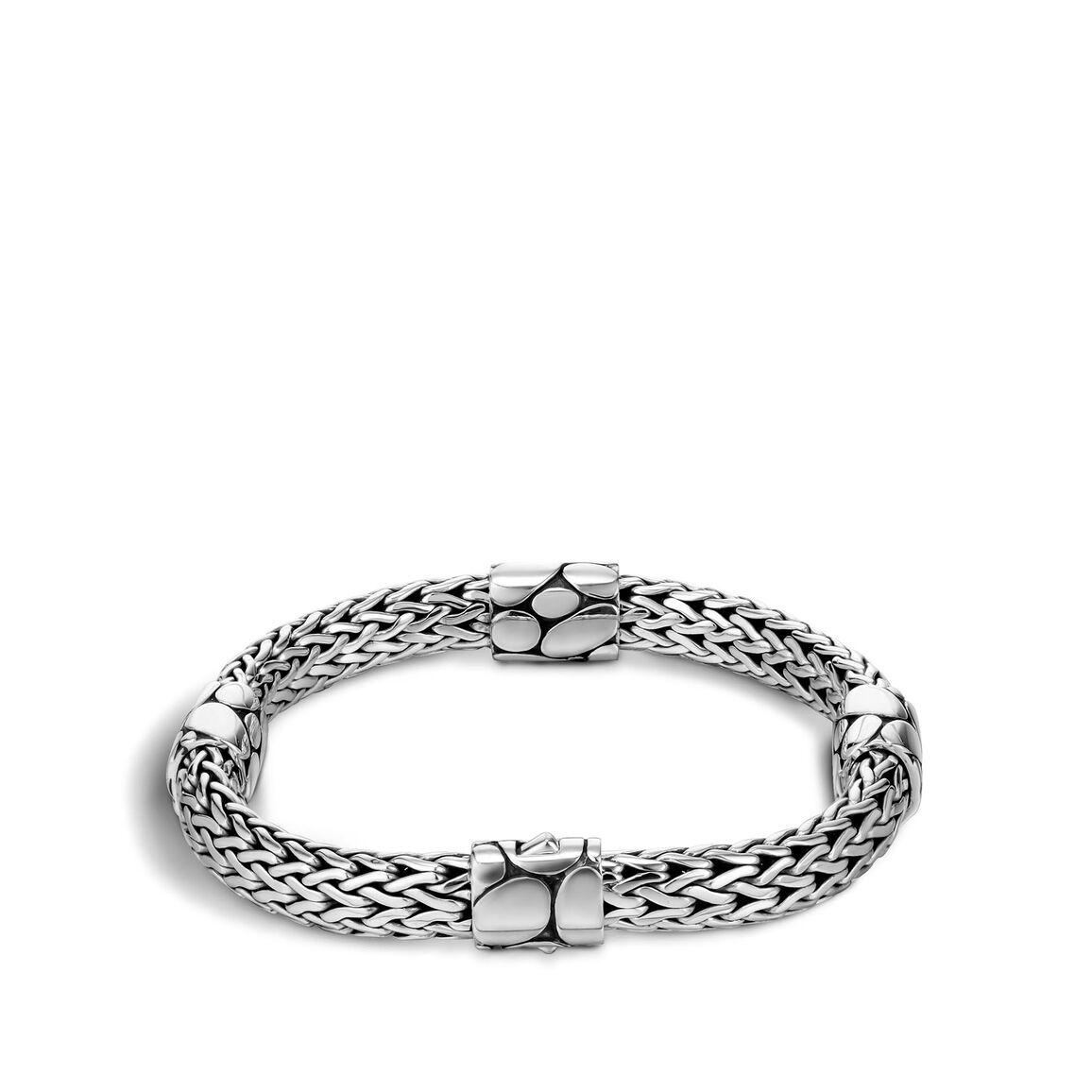 Kali 7.5MM Bracelet in Silver