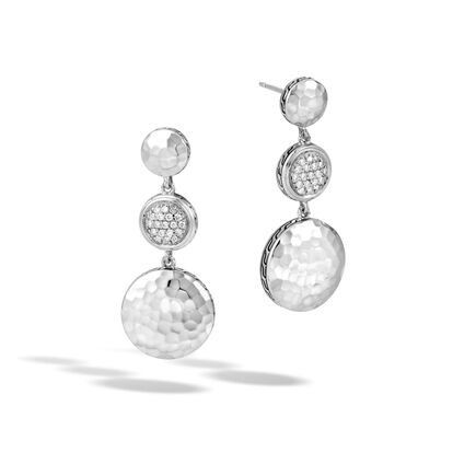 Dot Triple Drop Earrings