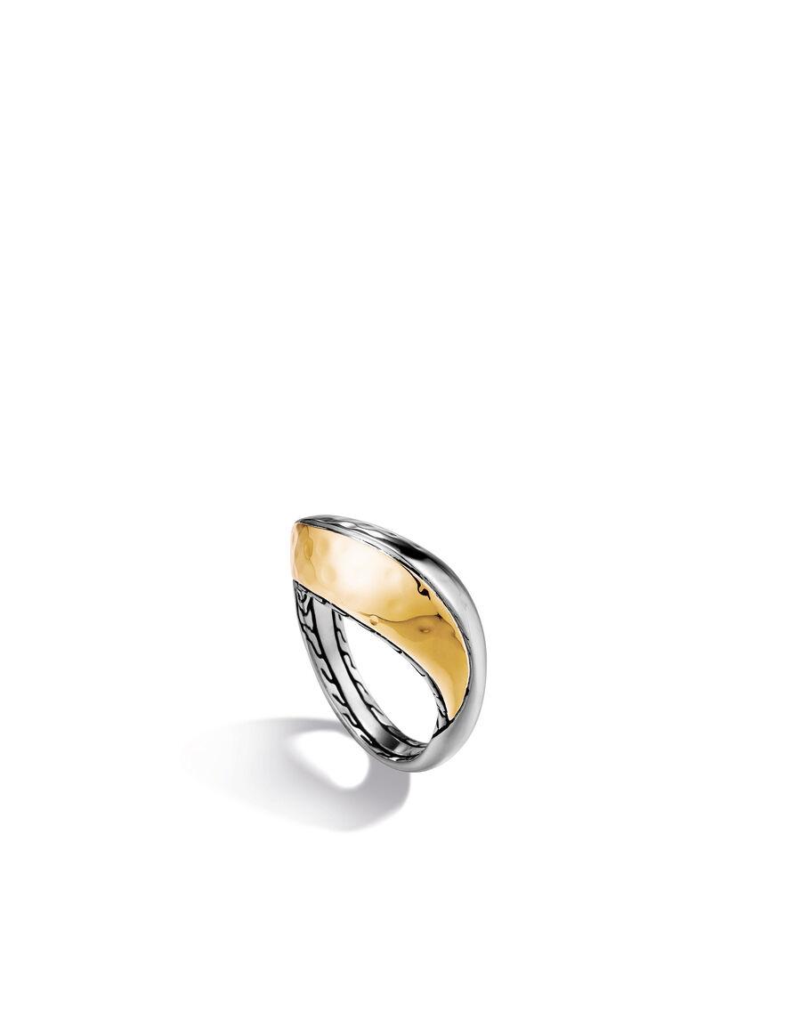 Palu Slim Wavy Ring
