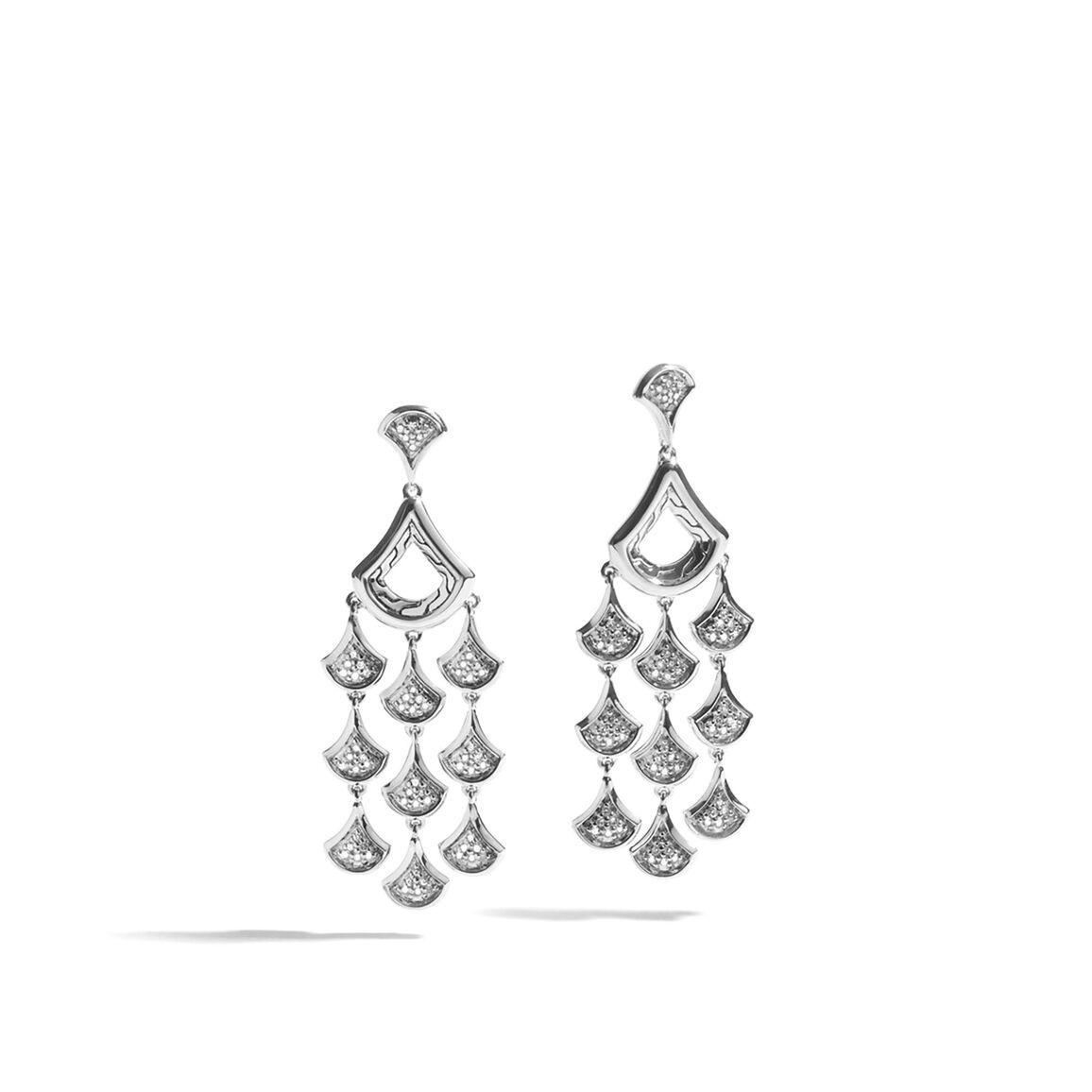 Legends Naga Scale Chandelier Earrings