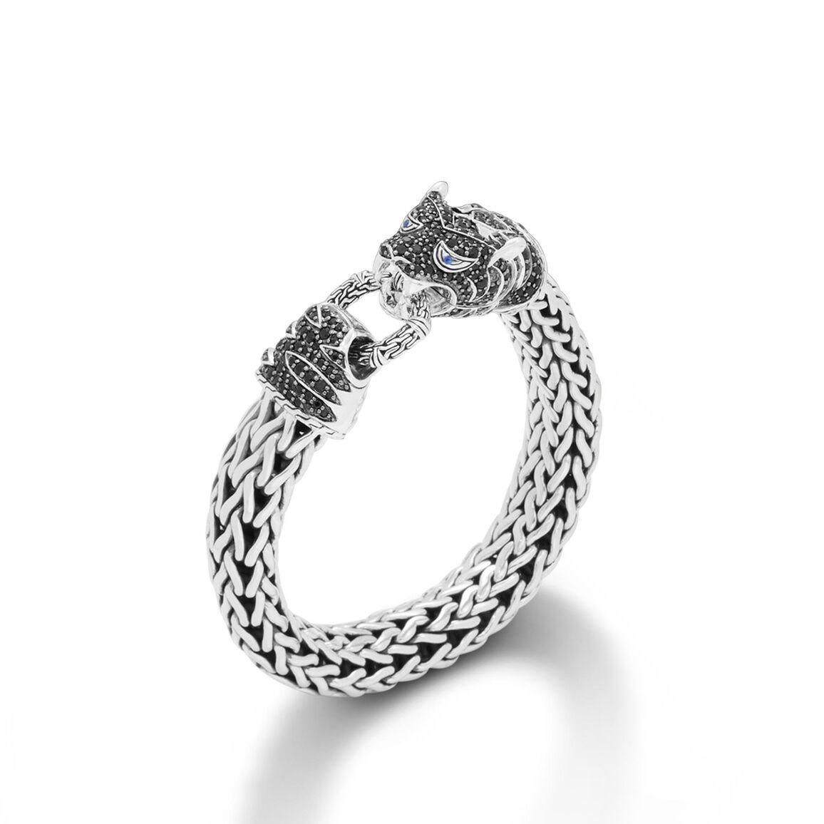 Legends Macan 10.5MM Station Bracelet in Silver, Gemstone