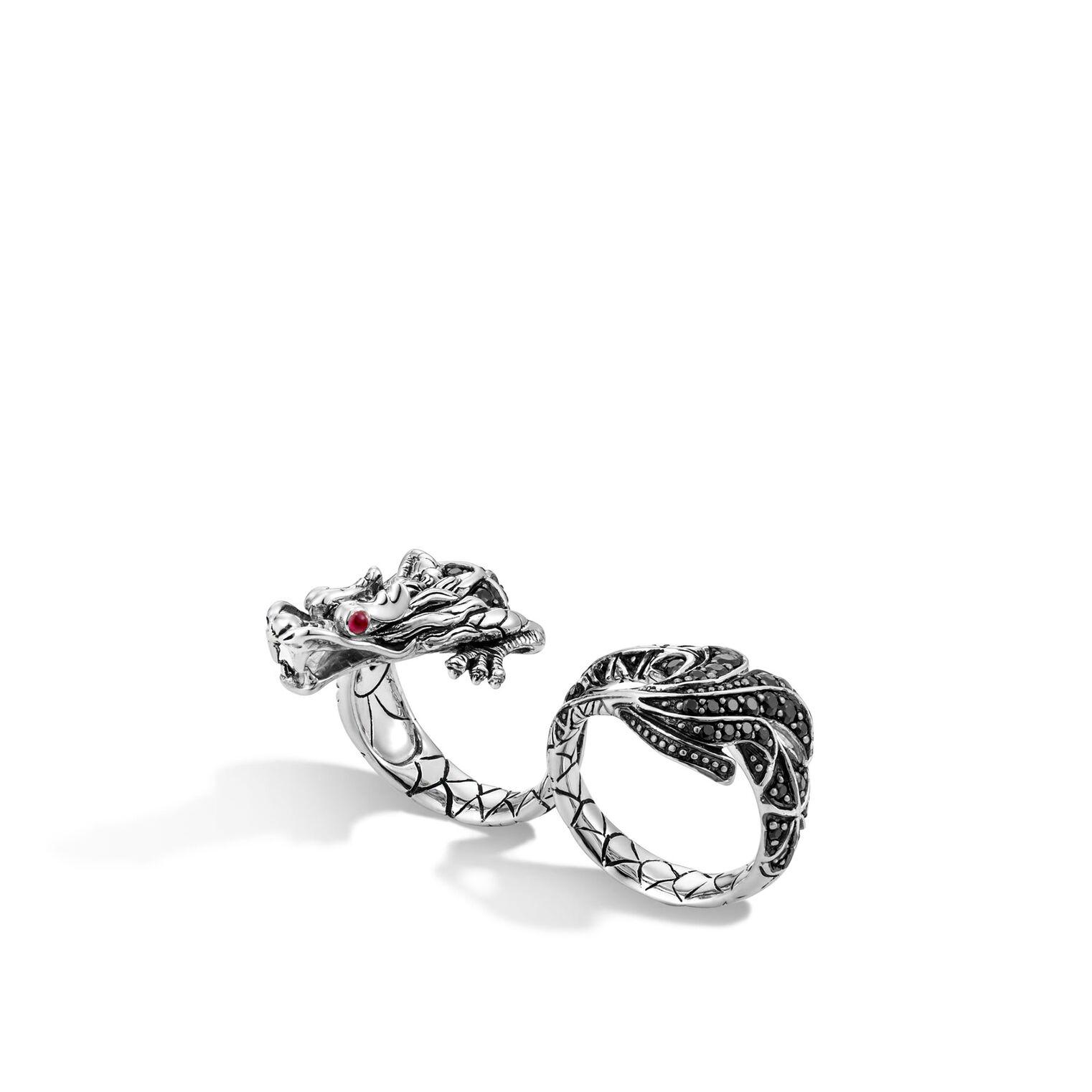 Naga Two-Finger Dragon Ring