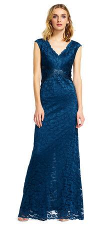 Light Blue Amp Navy Blue Bridesmaid Dresses Adrianna Papell
