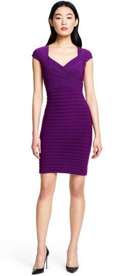 Banded Crossover Dress