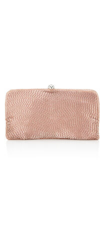 Navi Beaded Clutch