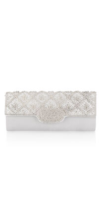 Nikita Floret Beaded Clutch