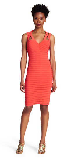 Banded Sheath Dress