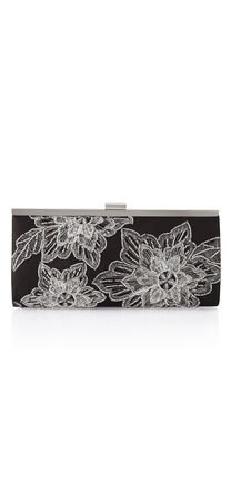 Savannah Floral Embroidered Clutch