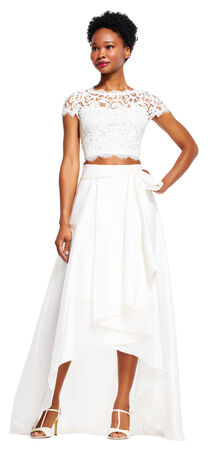 High low ball skirt