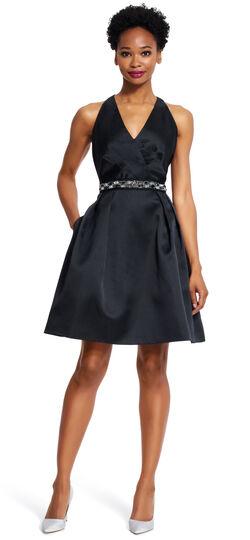 1920s Style Dresses Beaded Blouson Gown $59.15 AT vintagedancer.com