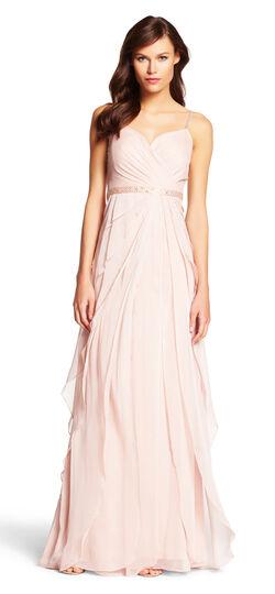 Chiffon Flutter Gown