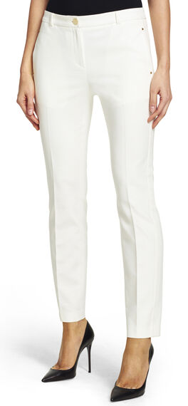 Fitted Pants with Side Tabs
