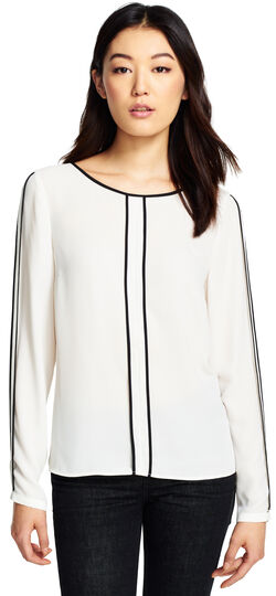 Solid Crepe Blouse