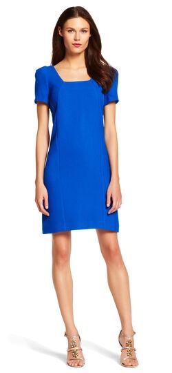 A-Line Tweed Dress