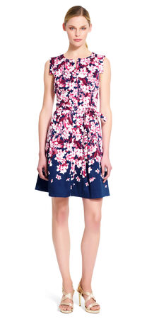 Floral Fit and Flare Shirtdress