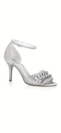 Alcott Chiffon Ruffle Two Piece Sandal