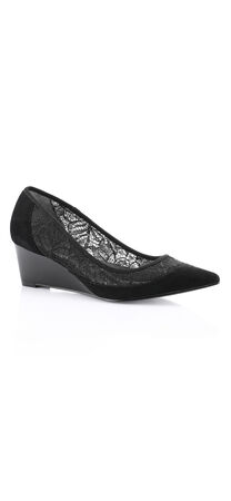 Langley Lace Wedge