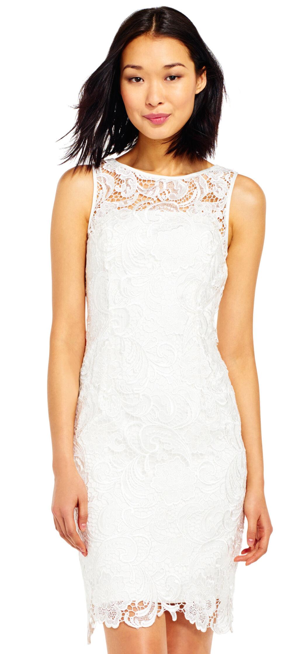 Plus Size Wedding Reception Dresses | Adrianna Papell