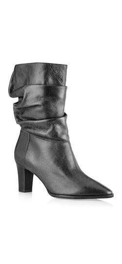 Noelle Almond Toe Slouchy Boot
