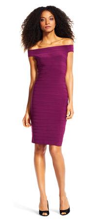 Off The Shoulder Banded Dress