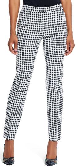 Gingham Printed Pants