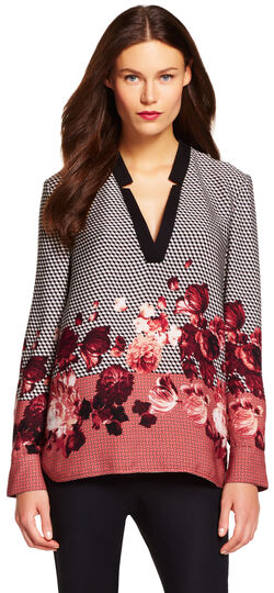 Placement Print Tunic