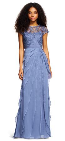 Flutter Chiffon Gown