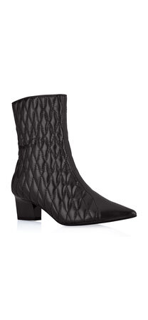 Marci Quilted Leather Boot