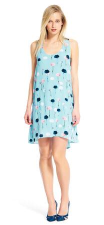 Chiffon Trapeze Dress