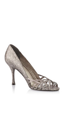 Fallon Metallic & Sparkly Pumps