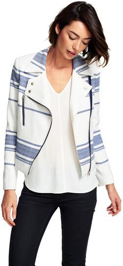 Tweed Striped Jacket