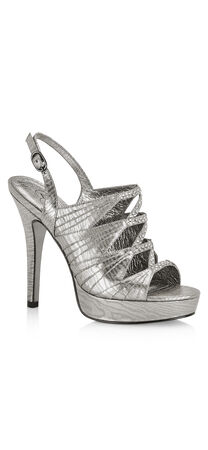 Marissa Pleated Metallic Pump
