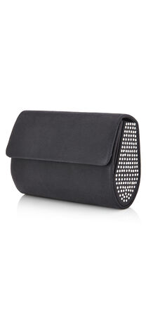 Siri Stud Trim Mini Clutch