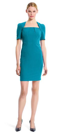 Seam Detailed Sheath Dress