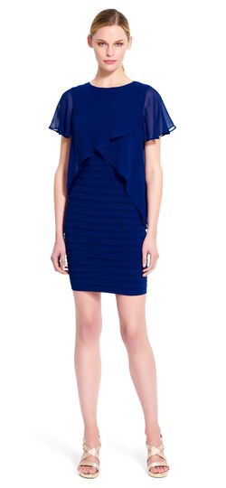 Popover Banded Sheath Dress