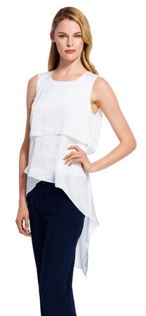 Asymmetrical Hem Tank Top