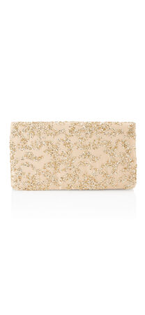 Shay Glitter Cluster Clutch
