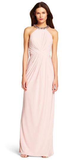 Jersey Halter Gown