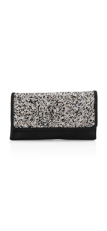 North Stone Mosaic Clutch