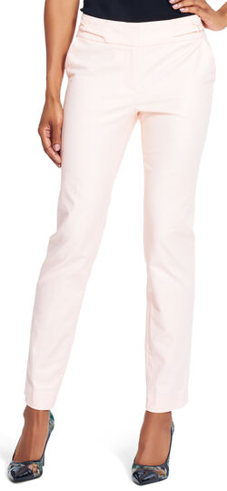 Solid Skinny Pant with Laced Waist Detail