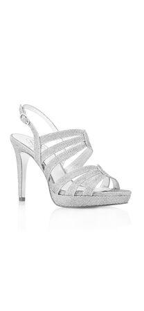 Anita Metallic High Heel Sandal