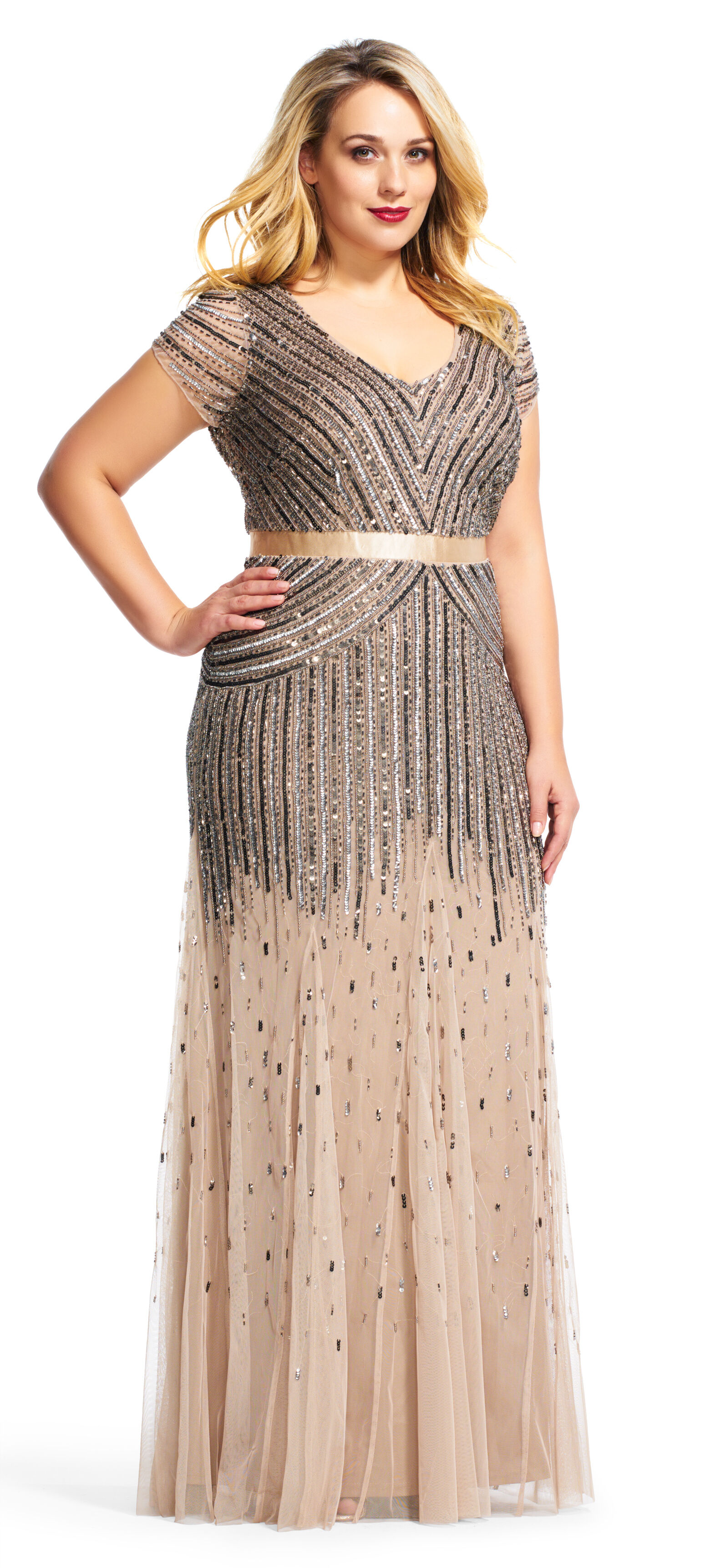 mother of the bride plus sizes dresses