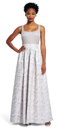 Jacquard Ball Gown